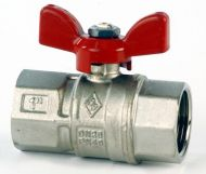 VS85 Red Handle T Bar Ball Valve